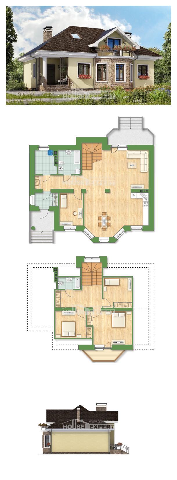 Проект дома 150-008-Л   House Expert